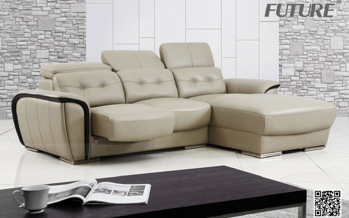 SOFA DA BÒ - FUTURE MODEL 7035 (3L) CHỮ L