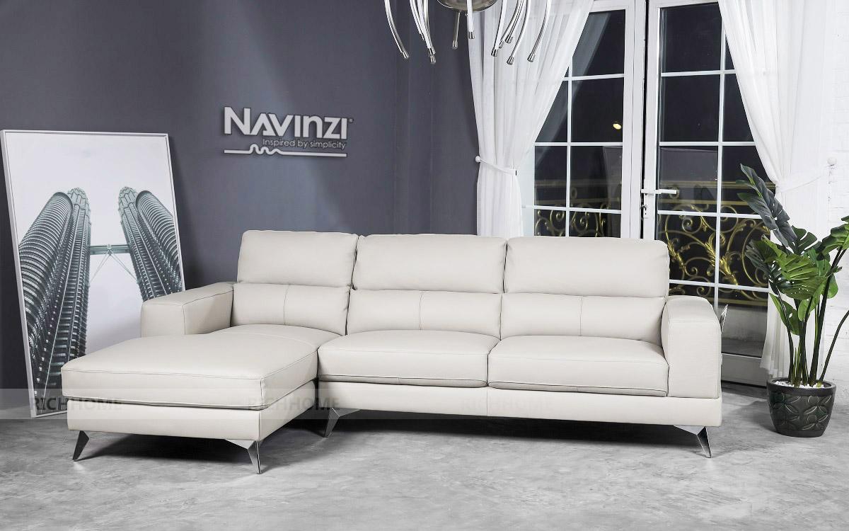 Sofa da Navinzi Sharpton - Có 20 màu sắc tùy chọn